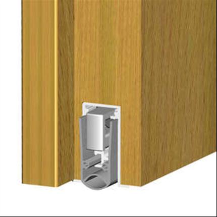 Tätningströskel som kan ersätta golvtrösklar, effektiv dörrkomplettering