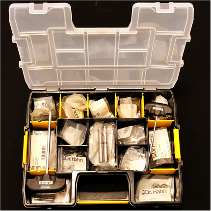 Göthes Dr Hahn service-kit, Türband 4, serie 60