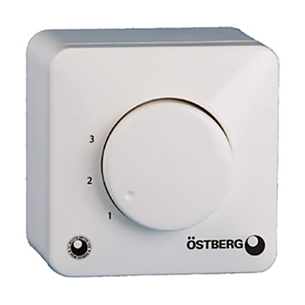 Östberg fläktstyrning MS EC potentiometer