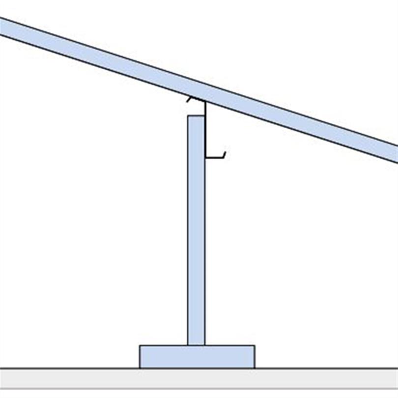 Lindab uppstolpat taksystem 2