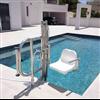 Globus Dione stolhiss för badplatser och swimmingpool
