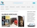 Globus Hercules småvaruhiss på webbplats