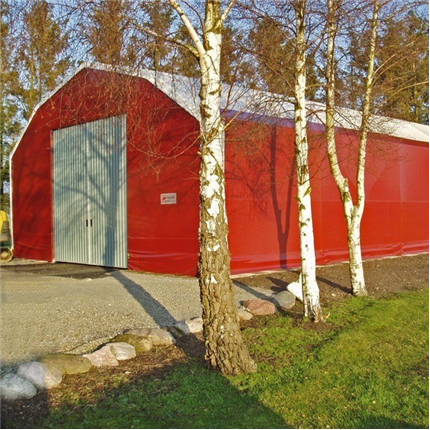 JP Volymhall, röd