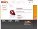 S&B brandmanschett på webbplats