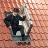 VELUX utstigningsfönster GXL, hantverkarutgång miljö
