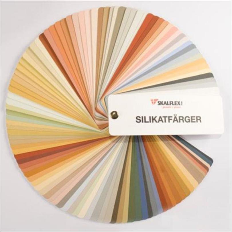 Skalflex färgkarta