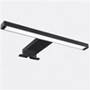 Furnco svart, 310 mm, LD-48 LED spegelbelysning med inbyggd driver
