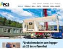 PCS Skolmoduler på webbplats