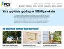 PCS referensobjekt på webbplats