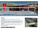 Floby gångbroar på webbplats