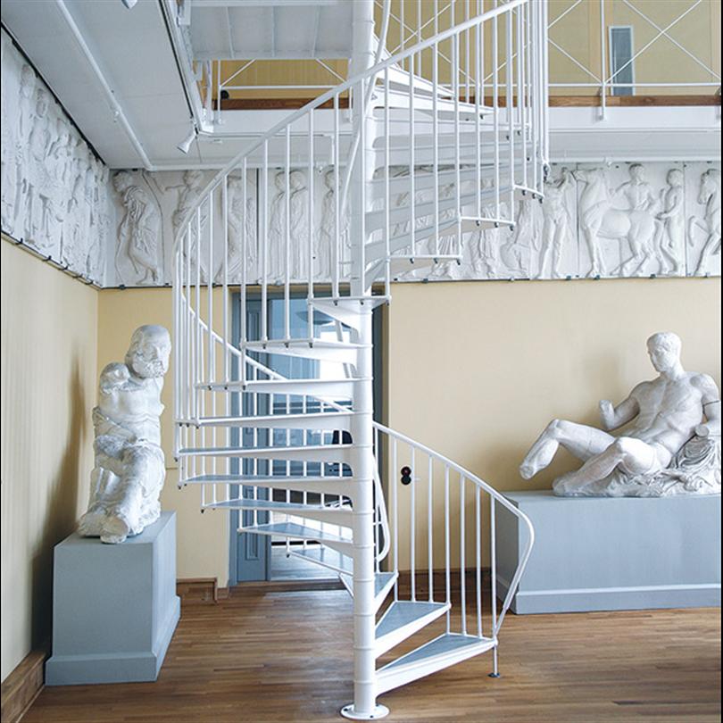 Spiraltrappa av gjutjärn, Pufendorfinsinstitutet, Lund