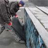 Svetsning av tätskiktsuppvik mot Foamglas Readyboard T4+