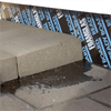 Anslutning tak/vägg med Foamglas block och Foamglas Ready Board T4+