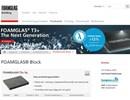 Block S3 cellglasisolering på webbplats