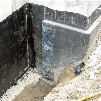 Isolering av källarvägg med Foamglas Readyboard T4+