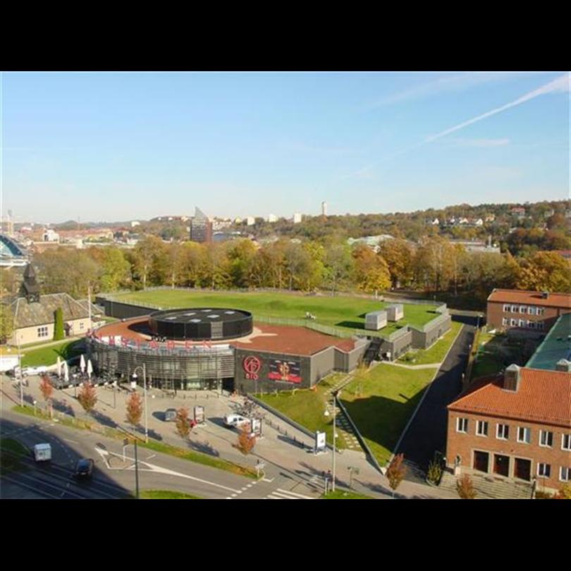 Foamglas, Grön Tak Bergakungenssalar Göteborg