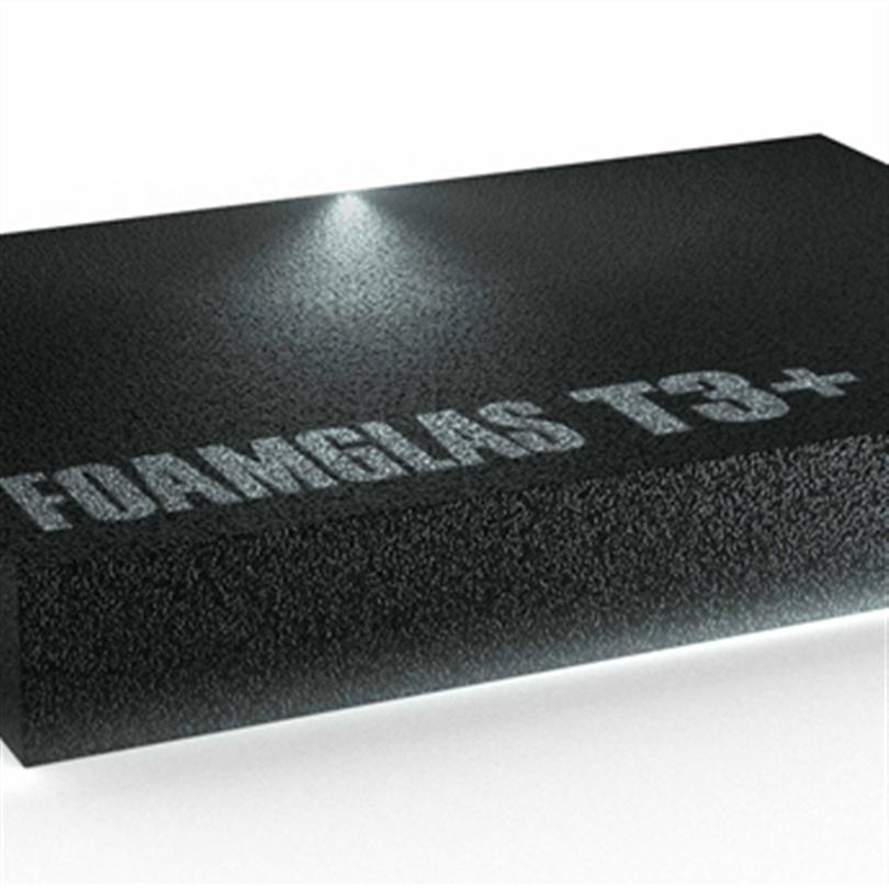 Cellglasblock för termisk isolering