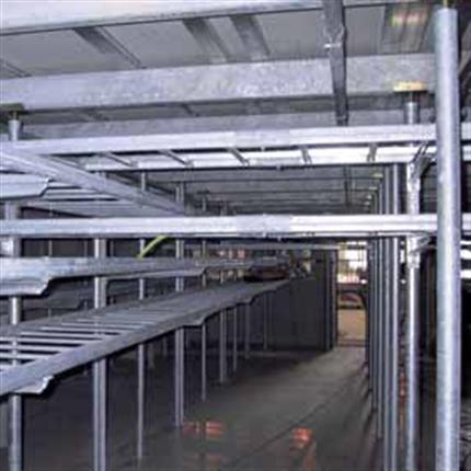 ELAVO högbyggda ställverksgolv