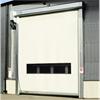 Stryktålig och viktlös fasadport, snabbrullport för stora kävande öppningar