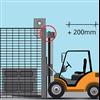 NORDIC 344-protec Rollback maskinskyddsport