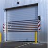 Avancerad industridörr av metall, snabb spiral port av hög kvalitet