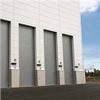 Metallrullport som går vertikalt, ekonomsik port för stora öppningar