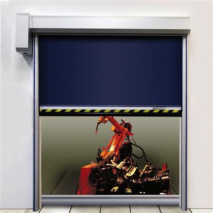 NORDIC 344-protec maskinskyddsport, snabbrullport