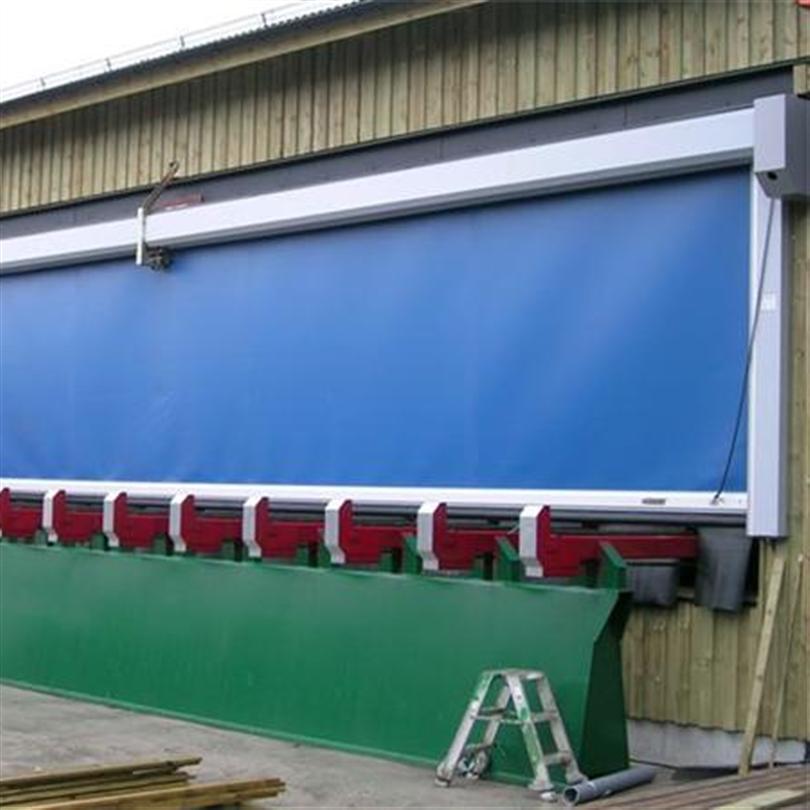Sågverksport för maximal energibesparing , snabbrullport passande för sågverk