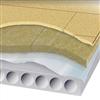 Byggelit Compactfloor ljudisolerande undergolv monterat på HDF-Bjälklag