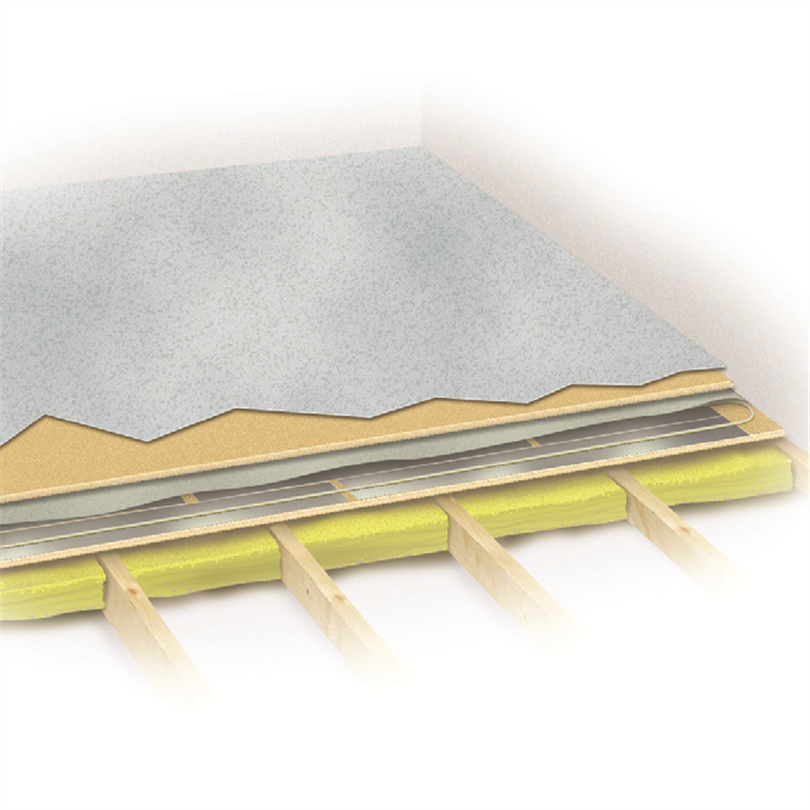 Byggelit Tempo värmegolvsystem, plastmatta/linoleum