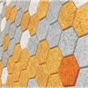 BAUX Tiles Träullit Hexagon akustikplattor