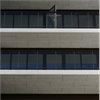 Träullit bullerskydd på balkongtak, Alvik