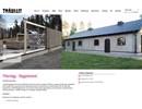 Träullit byggelement på webbplats