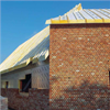 Unilin PIR-isolering på tak och vägg