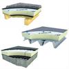 Unilin PIR-isolering på trä-, stål- och massiv konstruktion