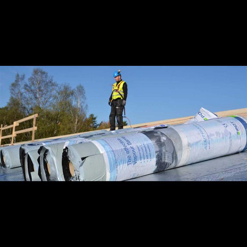 Alutrix fukt, radon- och ångspärr