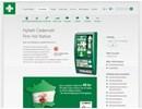 Första hjälpen-skåp på webbplatsen