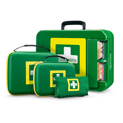 Cederroth First Aid kits, bärbara