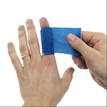 Cederroth blodstoppare och Soft Foam bandage