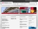 Thrace WG21 woven geotextil på webbplats