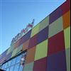 Cembrit Cover fasadskivor, Big Inn Köpcenter, Köping