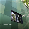 Cembrit Cover fasadskivor i olika gröna nyanser