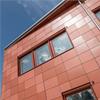 Cembrit fasadskivor Patina Original och Solid, Bredbynskolan, Örnsköldsvik