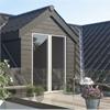 """Cembrit Plank trästrukturerade fasadplankor som """"träpanel"""""""