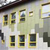 Cembrit Solid fasadskivor, Soldalaskolan, Södertälje