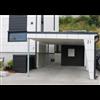 Cembrit Solid fasadskivor på hus och carport