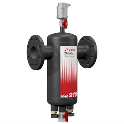 TTM MAG 210 MA magnet-, partikel-, luftavskiljare