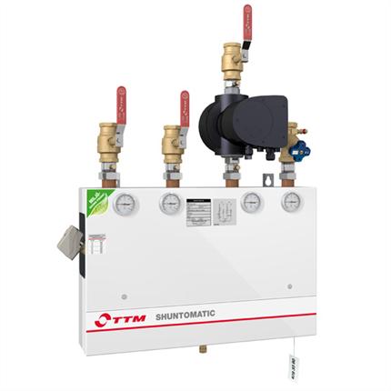 TTM Shuntomatic, Standardiserade shuntgupper för kyla och värme