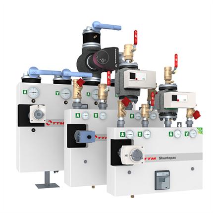 TTM Shuntopac EM, shuntgrupper energimätning