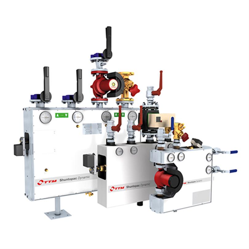 TTM Shuntopac Dynamic, shuntgrupper för differenstryckreglering